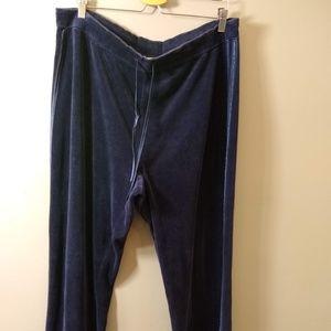 St John's Bay Track Jogger Pants Ladies Plus 1X